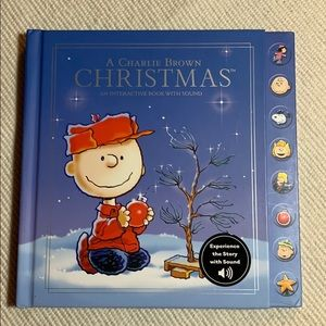 NEW Hallmark Book: A Charlie Brown Christmas